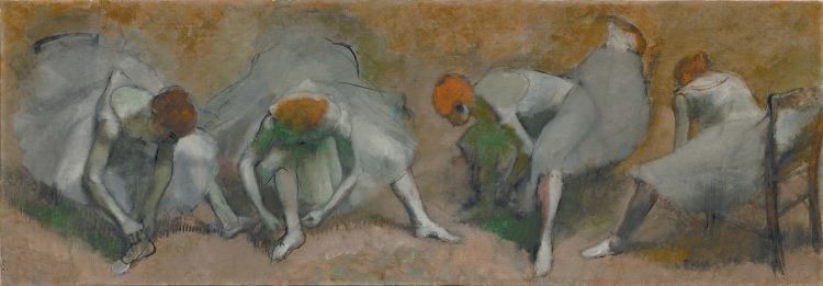 Edgar Degas: <i>Frieze of Dancers</i>, oil on canvas, circa 1895